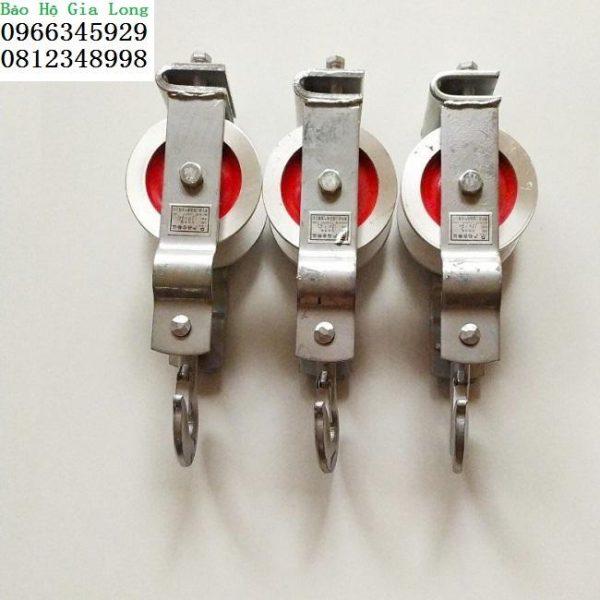 puly nhôm kéo dây điện 120x60