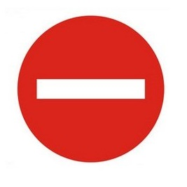 biển báo cấm đi ngược chiều