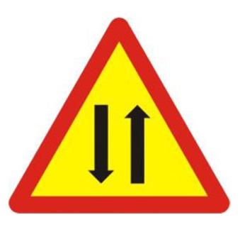 biển báo đường hai chiều