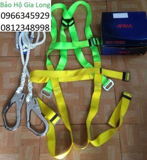 dây đai an toàn toàn thân adela 2 móc