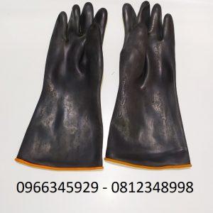 găng tay chống dầu