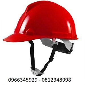 mũ bảo hộ màu đỏ