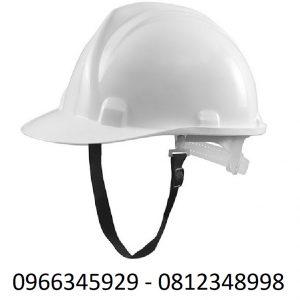 mũ bảo hộ màu trắng