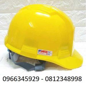 mũ bảo hộ sseda màu vàng