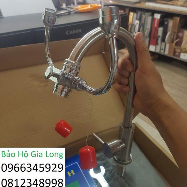 vòi rửa tay kết hợp rửa mắt khẩn cấp