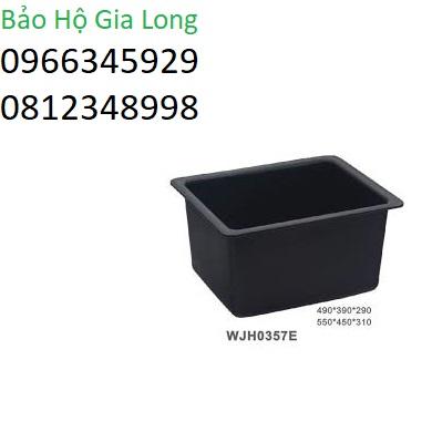 chậu rửa chống hóa chất phòng thí nghiệm wjh0357e