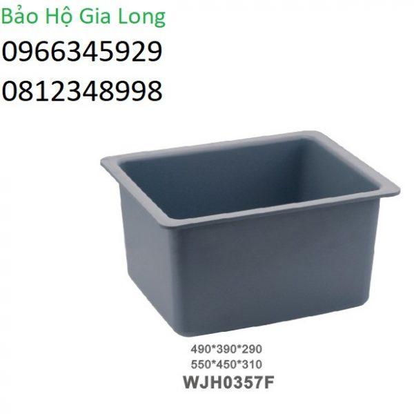 chậu rửa chống hóa chất phòng thí nghiệm wjh0357f
