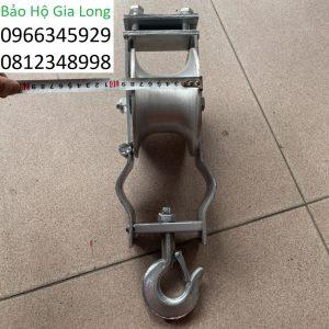 puly nhôm kéo dây điện 150x75mm